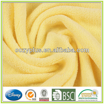 High Quality Polyester Dyed Coralline Fleece