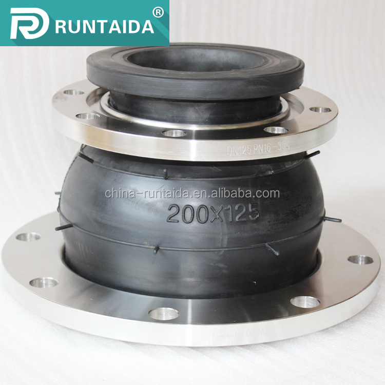 5% discount Eccentric reduced nr flexible rubber expansion joint
