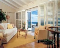 Arched Shape Basswood Plantation Window Adjustable Louver Shutters