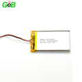 Rechargeable polymer li-ion battery 523460 3.7V 1200mAh for portable devices