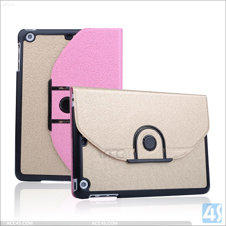 Cheap Price Color Matching Detachable Rotating Leather Case for iPad Mini 3, For iPad Mini 3 Leather Case Welcom OEM