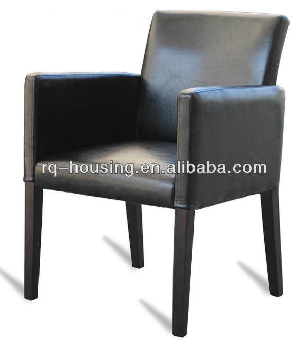 de lujo de madera tapizados de sillas de comedor con los brazos ...