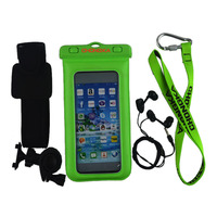 Eco-friendly Waterproof Bicycle Case With Earphone For Iphone6