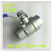 Stainless Steel Threaded Natural Gas Mini Ball Valve