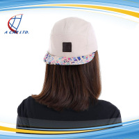 Wholesale Custom 5 Panels Snapback Cap Flat Bill Hats