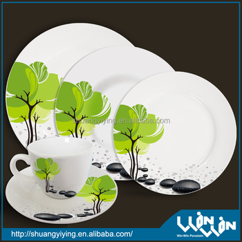 20 pcs porcelain dinner set wwd-130118