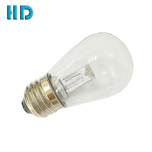 Outdoor garden lighting warm white S14 0.8w E26/ E27 medium screw base outdoor lamp guide pillar LED Bulbs