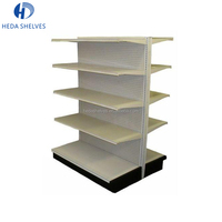 High quality certificated customize metal store shelves supermarket display rack gondola shelf