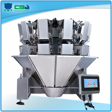 Fishmeal weighing filling machine 11 head weighing machine