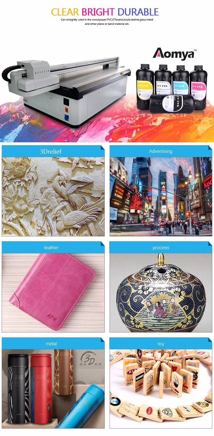 tinta uv aomya uv ink for 3d flatbed uv led printer phone case printing
