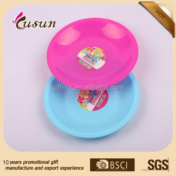 7 inch PP Cheap Disposable Plastic Colors pp Plate