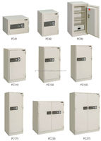 Various sizes of Japanese fireproof safe available in dial or keypad type