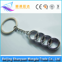 New hotsale wholesale luxury round car key logo emblem