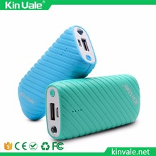 Kinvale hot selling portable charging Times more than 500 power bank 2600 mah ultra thin external and extended battery