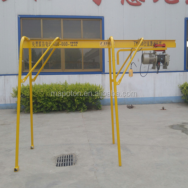 Highly Praised By Users Mini Crane Manual Monorail Hoist
