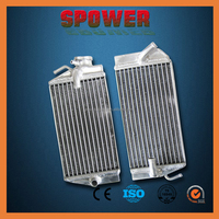 Good quality motorcycle aluminum water radiator for Honda CRF450 2002-2004