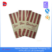 popular hand bread packaging paper bag color print foods packaging bag