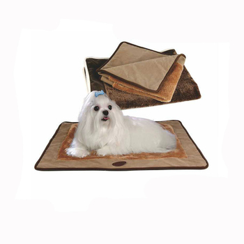 From China Discount Manufacturer Wholesale Soft Plush Square Shape Dog Beds