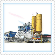 Concrete Batching Plant, Concrete Precast Plant Stationary Concrete Ready Mix Plant Production Capacity SanQ Group HZS25