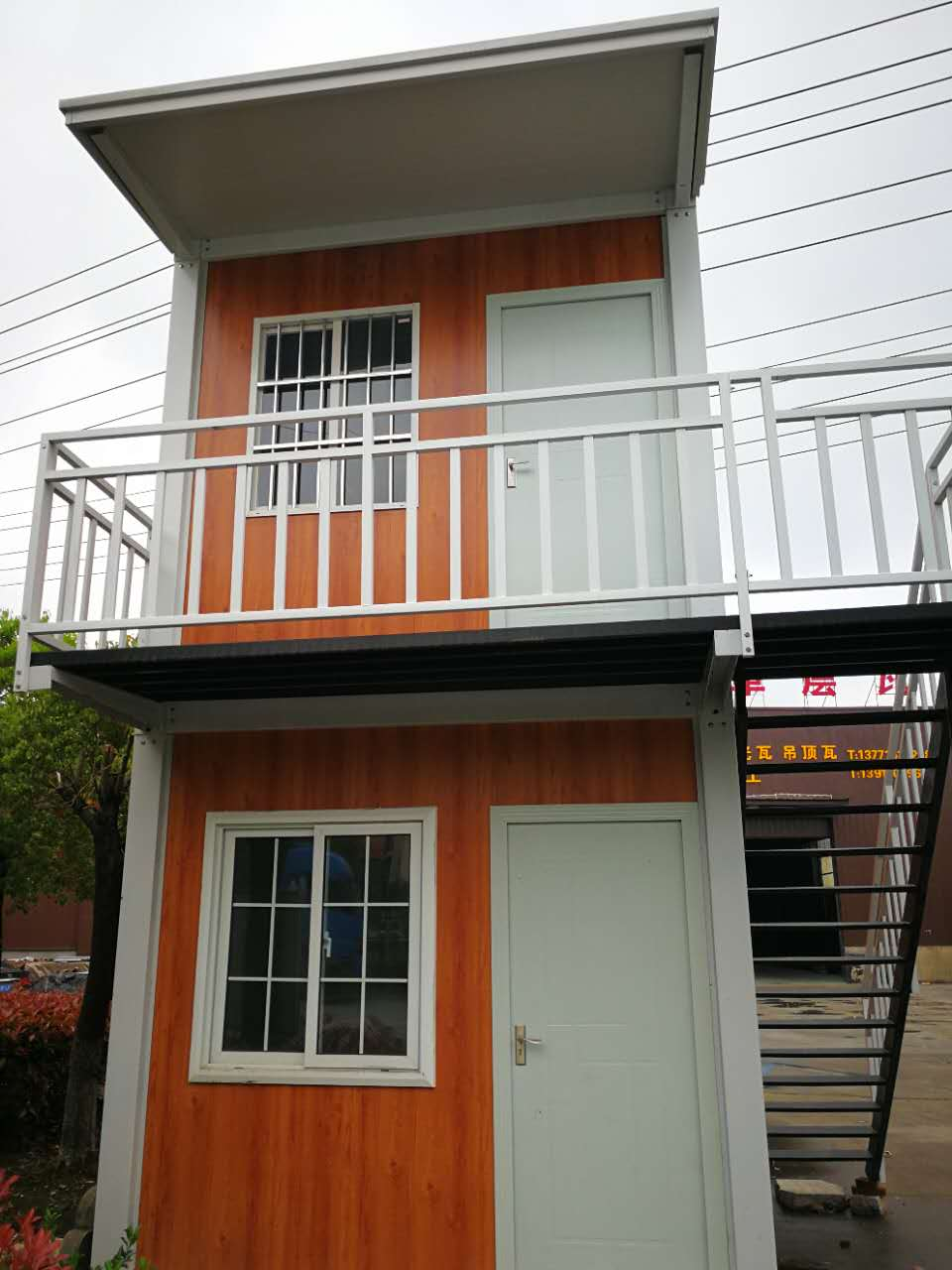 Prefabricated philippines temporary dormitory homes house kit with sandwich panel