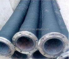 Corrugated rubber hose for press filter