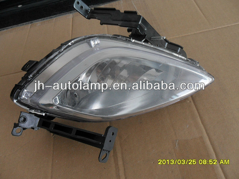 hy elantra 2012 fog lamp light,oem 92202-3X010 L:92201elantra auto car lamps lights,korea auto car motor body parts accessories