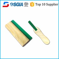 wooden handle screen printing squeegee rubber with meet any hard conditions of use