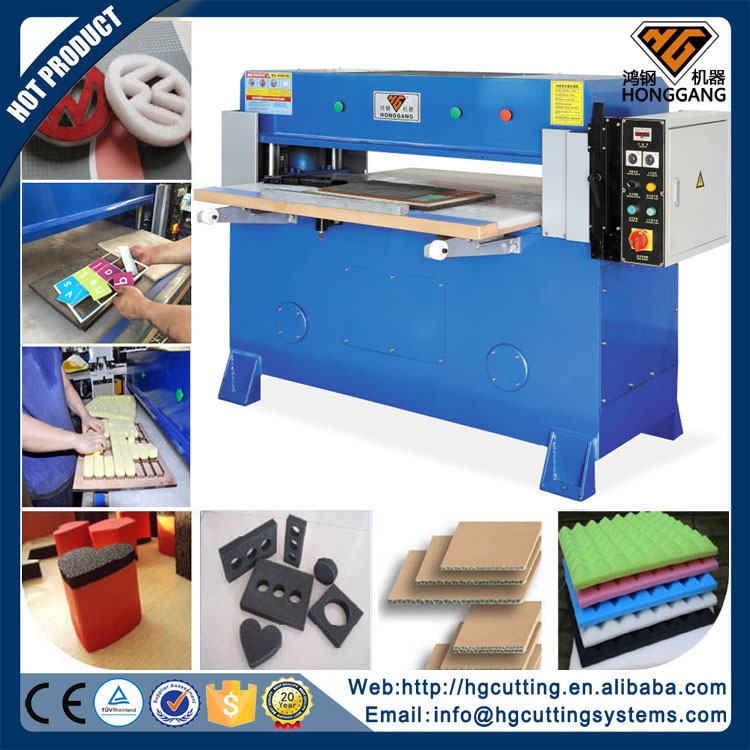 precision hydraulic l200 foam press cutting machine