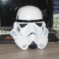 X-MERRY Stormtrooper Helmet White Cosplay Mask Latex Replica Collection Mask for Halloween Party Fancy Dressing