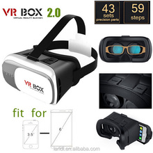 2016 Google Cardboard 3d VR BOX Version Head Mount VR Virtual Reality Smartphone 3D Glasses + Bluetooth Remote Control Gamepad