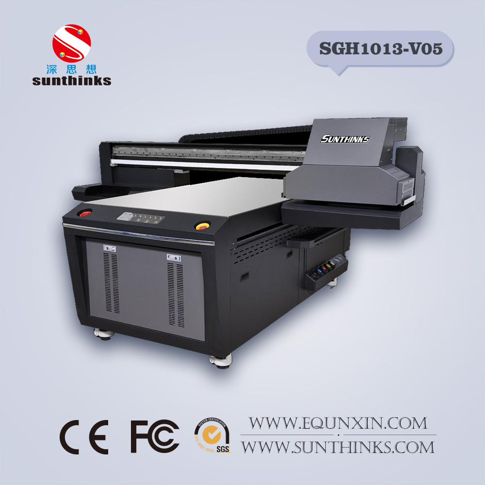 SGH2513 Ricoh GH2220 uv printer for glass wood metal ceramic plastic printing machine C M Y K WH Varnish digital printer