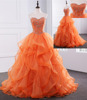 Wholesale colored bridal gown Strapless neckline sleeveless wedding dress AS502