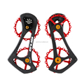 GUB R8000 17T Carbon Road bicycle rear derailleur pulleys bearing jockey wheels For 6800/6870/9000/9070/Ultegra/DURA ACE