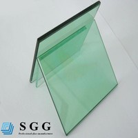 8mm light green glass, tinted glass, green glass for tempering