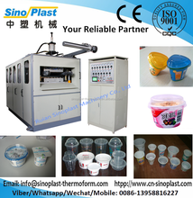 Automatic Plastic Cup Thermoforming Machine, square tray making machine
