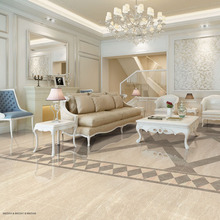 pearl stone marble look polished tiles flooring