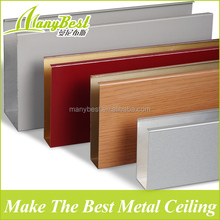 2017 new types of ceiling materials for corridor