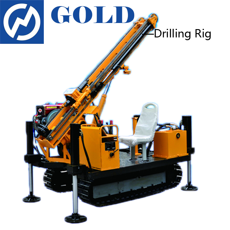 MGJ-50L crawler mounted anchor drilling rig
