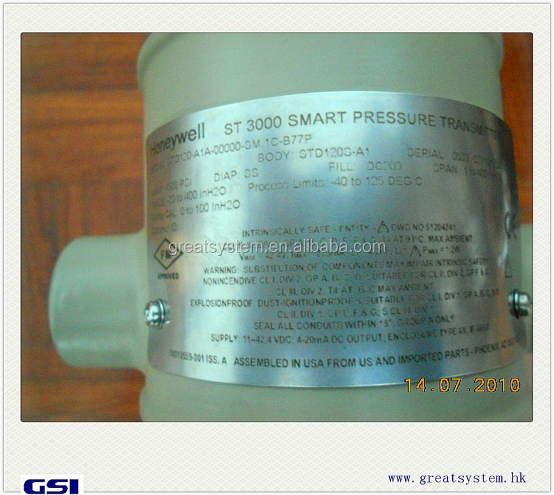 Original New pressure transmitter Honeywell ST3000 STD120