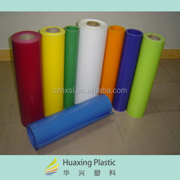 Clear Colored PS Polystyrene Rigid Plastic Sheet for Blistering Printing