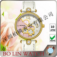 2013 beauty butterfly ladies watch chinese mechanical wholesale watches wrist watch beauty case