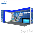 Detian Offer trade fair displays exhibition system booth special exhibition booth design