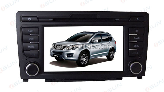 For Great Wall Hover H6 Car dvd gps Navigation with Bluetooth am/fm radio 3G steering Wheel control made in China