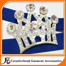 Luxury Full Rhinestones Crown Brooch Cheap Pins Jewelry Elegant for Women Girl