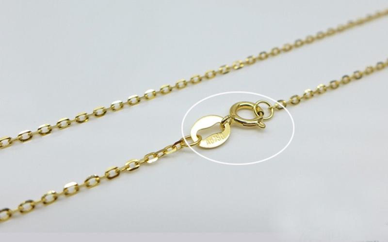 18k gold chain yellow  (1)
