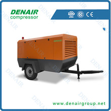 Mobile 13Bar Air Compressor For Water Well Drilling