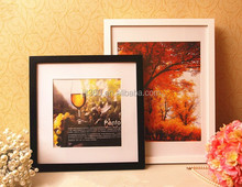 2017 hot sale hanging decoration wood picture photo frame