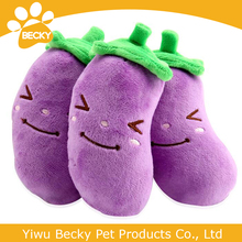 Safety Plush squeaky brinjaul dog cat products high quality stuffed pet toy
