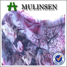 Mulinsen Textile Knit Jersey 96 Polyester 4 Elastane FDY Four Way Stretch Custom Digital Printing Fabric