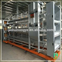 Agricultural equipment with 96 birds per units folding chicken cage